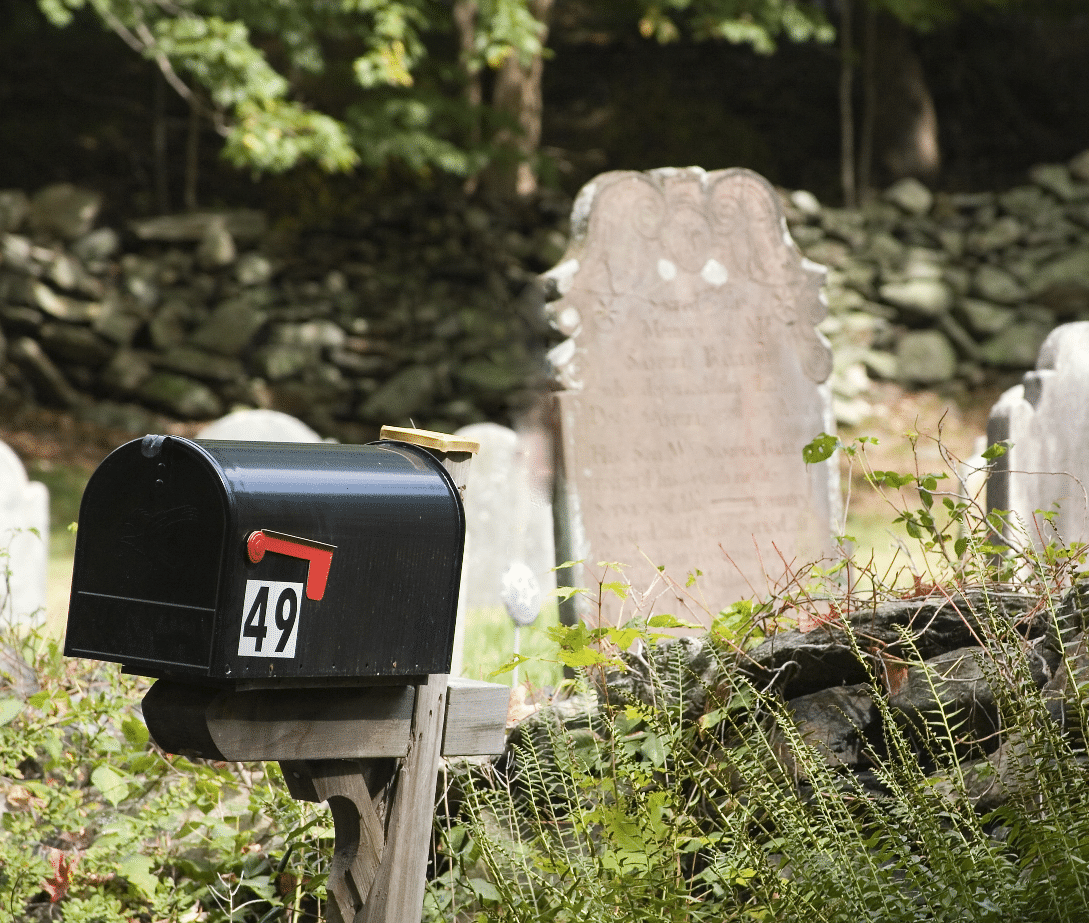 mailing the dead